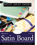 Satin Ink Jet Board