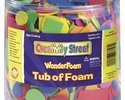 Wonderfoam 1/2 Pound Tub of Foam Pieces