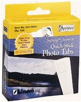 Self-Adhesive Photo Tabs
