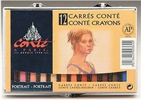 Conte Crayon Portrait 12 Set