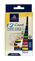 Conte Crayon Assorted Colors 12 Set