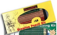 #10 Drawing Pencil Kit