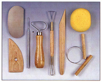 Clay Modeling Tool Set
