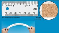 Stainless Steel cork-back Rulers