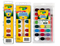 Crayola Washable Watercolor Sets