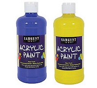 Sargent 8oz Acrylic Paints