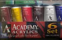 Grumbacher Academy Sampler Set