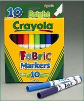 Crayola 10 ct. Fabric Markers