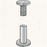 Aluminum Screw Posts 3-pack