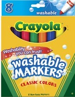 Crayola Classic Broad-tip Markers