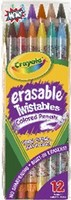 Crayola Erasable Twistable Pencils