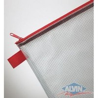 Zippered Mesh Pencil Bags