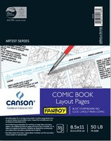 Comic Book Layout Pages