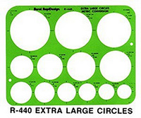 X-Large Circles Template