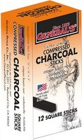 General Pencil Compressed Charcoal