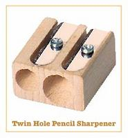 2-hole Lyra Beechwood Sharpener