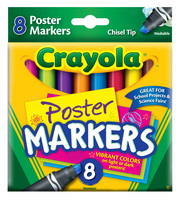 Crayola Poster Markers 8 pk
