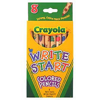 Crayola Write Start Colored Pencils 8ct