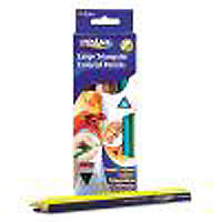Prang Large Triangular Color Pencils 12 ct