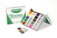 Crayola 200 Washable Markers Fine Tip