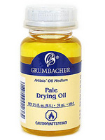 Grumbacher Pale Drying Oil 2.5 oz