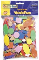 Wonderfoam Peel & Stick Asst. Shapes 720ct