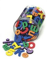 Wonderfoam Magnet Letters and Numbers