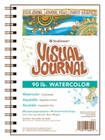 Visual Journals - Watercolor 90lb