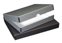 Gray Archival Storage Boxes