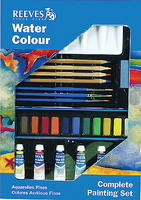 Watercolor Colour REEVES Complete Painting Set