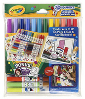 Pipsqueaks Washable Markers 'n Sticker Set