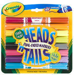 Crayola Heads N' Tails Dual-Ended Markers