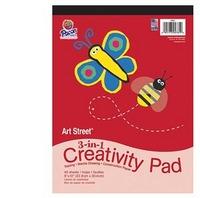 Art Street 3-in-1 Creativity Pad