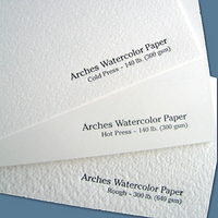 Arches Watercolor Paper- Hot Press