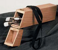 Wooden Brush Quiver