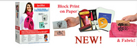Ultimate Fabric & Paper Block Printing Kit