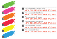 *NEW* Flourescent Block Printing Ink 16 oz