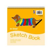 Art Street Sketch Book