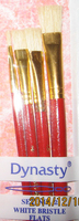 Set 2 Bristle Flat Brush Set