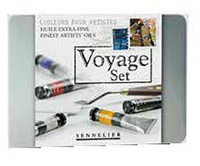 Sennelier Voyage Oil Paint Set