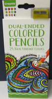 Dual-Ended Colored Pencils