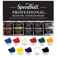Speedball Professional Relief Ink