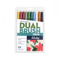 Tombow Holiday Dual Brush Pen Set