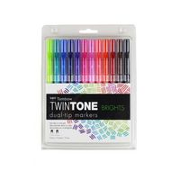 Tombow TwinTone Bright 12 Set