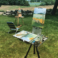 Slow River Studio Painting Class