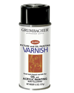 Grumbacher Varnish for Arcrylic