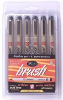Pigma Brush Pens