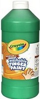 Crayola Finger Paint Quart Jars
