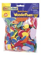 Wonderfoam Assorted Shapes