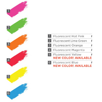 Flourescent Screen Printing Inks